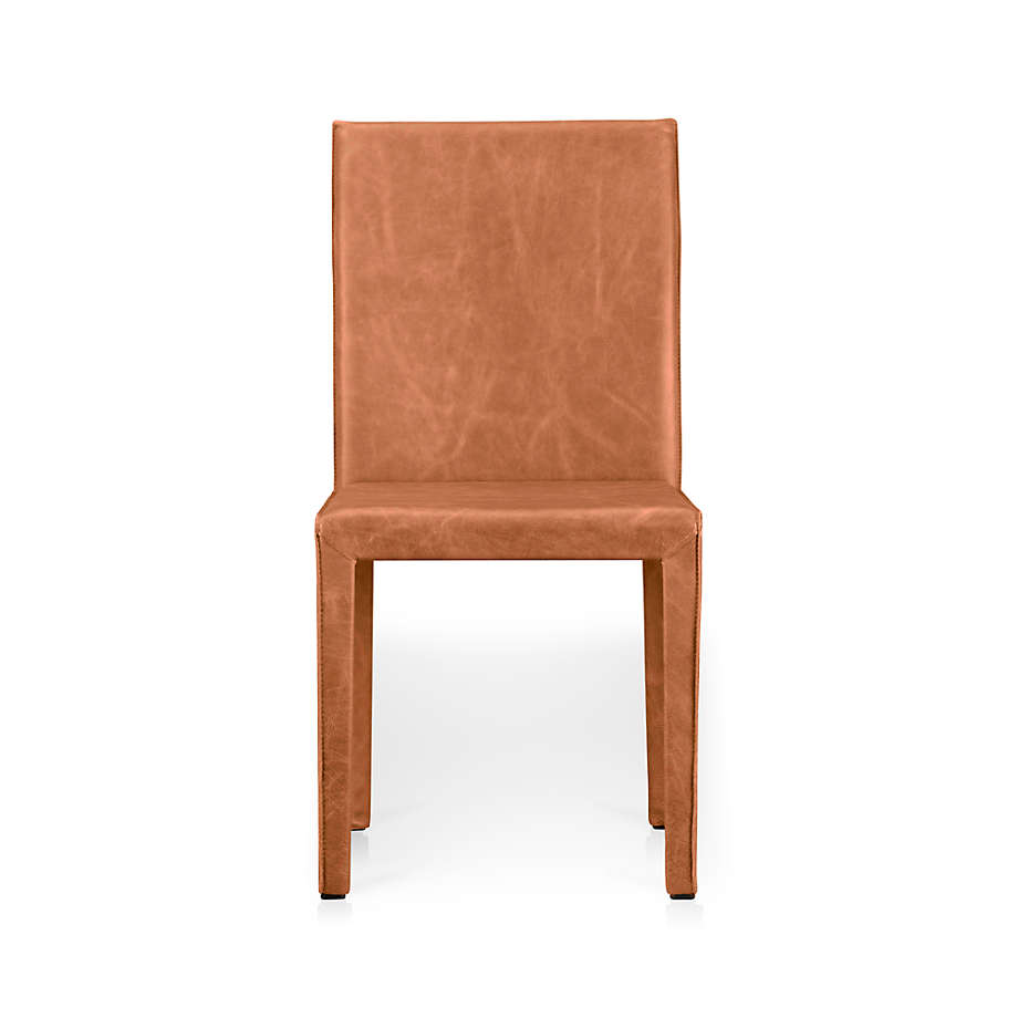 Folio Whiskey Top Grain Leather Dining Chair