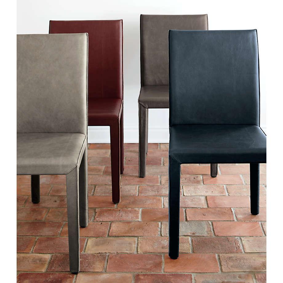 Folio Oceana Top Grain Leather Dining Chair